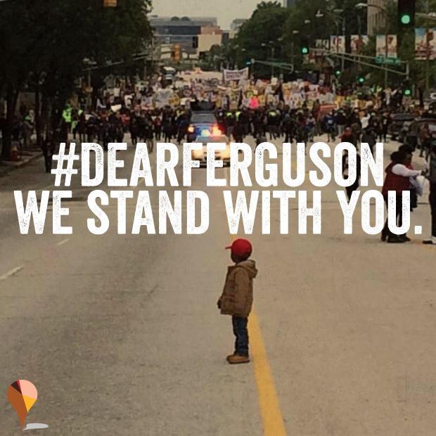 "It doesn't end tonight. ""@THESOURCE: #DearFerguson (photo credit, @sonsandbros) http://t.co/Y2NuazvtJG"""