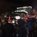 Group in front of #Colorado Capitol in #Denver calls for non-violent response to #Ferguson http://t.co/yDnpUQDFjO