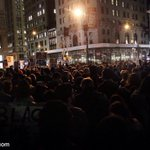 Hundreds in NYC waiting to hear official grand jury decision. #Justice4MikeBrown #Ferguson http://t.co/wh97bW2lvU