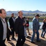 Junto al titular de Conagua @David_Korenfeld y el Presidente Municipal @SerranoEnrique1, recorrimos el dique La Presa http://t.co/seJJWijr4a