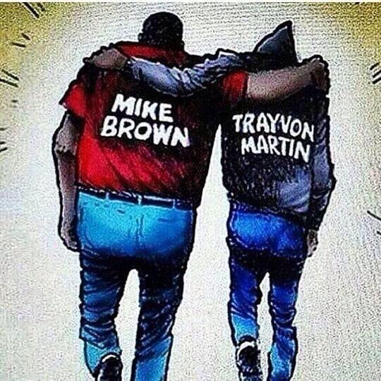 I feel like society wants us to know no matter how far we think we've come we still are not equal #FergusonDecision http://t.co/cTzY8fo877