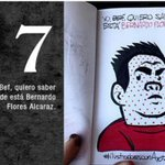7 Bernardo #AyotzinapaNoSeOlvida #FueElEstado #DestitucionyJuicioEPN http://t.co/KvC0HtQSwv
