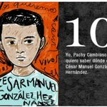 10 Cesar Manuel #AyotzinapaNoSeOlvida #FueElEstado #DestitucionyJuicioEPN http://t.co/VXIeDlRg2m