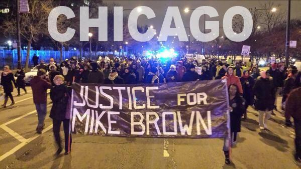 The #FergusonDecision has sparked protests around the nation. #DarrenWilson http://t.co/9GWQ7BY463
