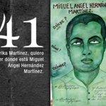 41 Miguel Ángel Hernández #AyotzinapaNoSeOlvida #FueElEstado #DestitucionyJuicioEPN http://t.co/pzOtsBqbgO