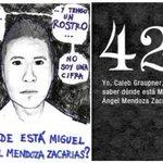 42 Miguel Ángel Mendoza #AyotzinapaNoSeOlvida #FueElEstado #DestitucionyJuicioEPN http://t.co/pyXaW8qnBq