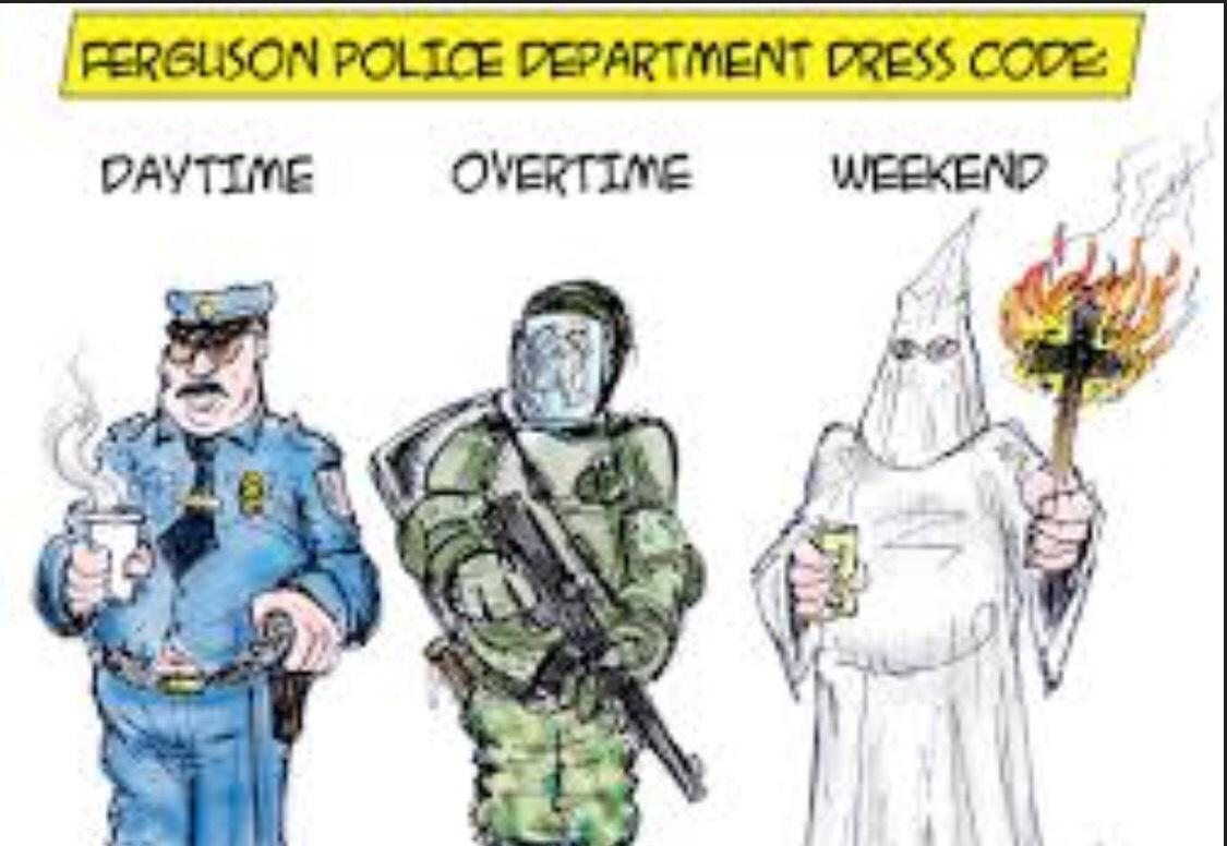 Imagine if lil precious was shot more than 9 times without being armed verdict would be justified #Fergusondecision http://t.co/qs7m6xpeQw