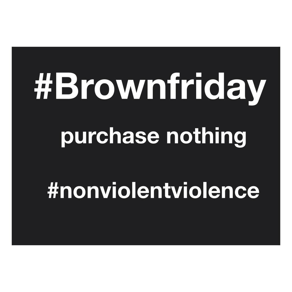 .@mayalhassen @DaMFunK @questlove @joshwink1 @hotpeasandbutta @215tayyib @bjork #brownfriday #nonviolentviolence http://t.co/OR1uB6zb1h