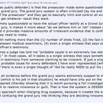 Interesting comment on Reddit about grand jurys, the prosecutor, etc re #ferguson (fwiw) http://t.co/rzbDKlidVM http://t.co/YaKeg6vw3J