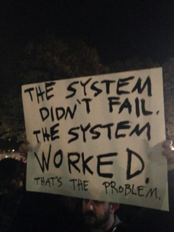 """""""@tommiesunshine: best protest sign I've seen from tonight. @YourAnonNews http://t.co/TDv11R3rkK"""""""