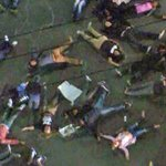 """Protesters stage a """"Die-In"""" at intersection of La Brea and Venice http://t.co/qsouG2PojZ http://t.co/2m3ru1MDuF"""