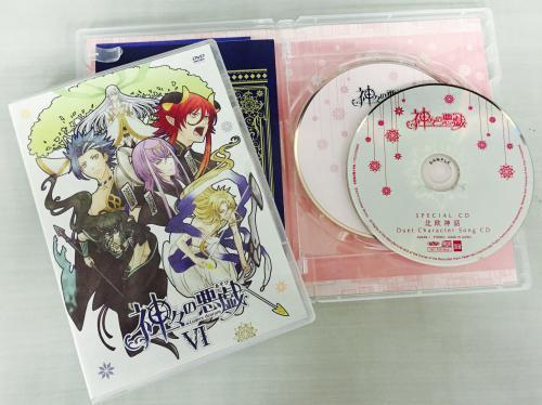 明日11/26発売のアニメ「神々の悪戯」BD・DVD第6巻、いよいよ最終巻です。結衣と神々の物語の結末を、どうぞご覧くだ