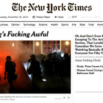 Sneak peek of tomorrows New York Times. http://t.co/biq1E06Oy4