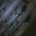 Protesters march onto traffic on 110 Freeway in Downtown L.A. http://t.co/x8x6v8Ee8k