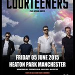 HEATON FUCKIN PARK!   FRIDAY 5th JUNE 2015.   #HOMECOMING http://t.co/5HdTdwyTCD