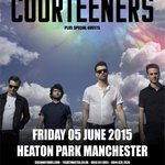 Oasis,   Stone Roses,  er… The Pope?  & NOW @thecourteeners!!!  Playing Heaton Park on 5th June 2015.  MASSIVE. http://t.co/jmsO6YT4Jg