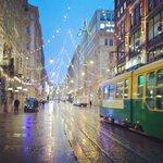 Good morning from #Helsinki :)#Aleksanterinkatu #Christmas #tram @VisitHelsinki @OurFinland http://t.co/2V8ztWfqLo