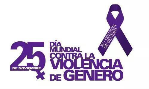 Hoy todos y todas contra la violencia de género http://t.co/IfzL2VfTBQ