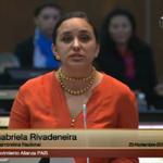 .@GabrielaEsPais señala que la violencia esta arraigada en la sociedad como parte de su matriz cultural http://t.co/HZYjlosQf0