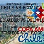 Los partidos de #Ecuador en la #CopaAmerica2015 http://t.co/keOybp8e55