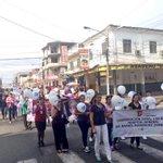 #HRZ presente en la manifestación pacífica contra la violencia a la mujer, durante la conmemoración de esta fecha http://t.co/uLbytLwR7f