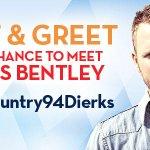 Whaaaat? Meet n Greet hook up w/ .@DierksBentley? Just follow @newcountry94 + RT #NewCountry94Dierks Winner Monday. http://t.co/RP5FMSt8ZT