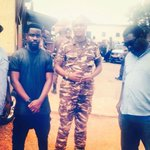 At least hes lookin good. See u on the 8th starboy @sarkodie http://t.co/3q6lk51j5K