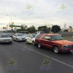 """@Trafico_ZMG: Leve choque entre 3 vehículos sobre carril central de Periférico casi en Mariano Otero a Av. Gpe. http://t.co/UiJe1FtU0i""/ Yo"