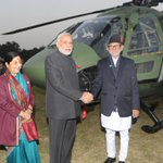 Handed over the DHRUV Advanced Light Helicopter (ALH) Mark III to Nepal. http://t.co/HsRYoD7vM9