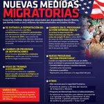 Estas son las nuevas #MedidasMigratorias que beneficiarán a 5 millones de indocumentados en EU. #InfografíaNotimex http://t.co/ZTQZ9bxeHc