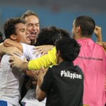 The @PHI_Azkals qualify for the Semi Finals of the #AFFSuzukiCup! Congratulations! http://t.co/yJ1zDrI0Yv