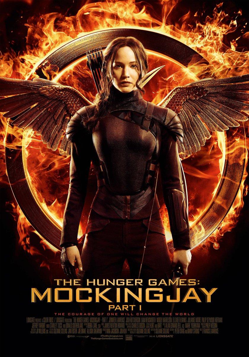 We geven posters weg van The Hunger Games: Mockingjay Part 1.    Retweet om kans te maken op een exemplaar! http://t.co/XRO9oXYQkH