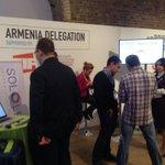 Armenian delegation at work #unbounddigital http://t.co/qw3FeDzVve