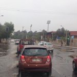 En #Copiapó reportan rotura de matriz sector Copayapu con Pedro P Figueroa, agua ya llega hasta Alameda http://t.co/tm5WSkOhrL