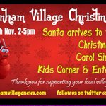 Limited indoor spaces available for our Xmas market Book 2day 30+ stalls, Santa arriving, choir, DSPCA, kids games http://t.co/vNdLK5bHf6