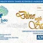 RT @venkatmadhu11: @vennelakishore @HeroManoj1  Exclusive : List of stars to attend #memusaitam Dine With Stars