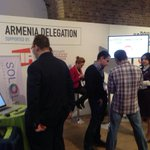 Armenian delegation at work #unbounddigital http://t.co/kAA8M3hQy3