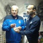 Равиль Аряпов взял с собой в Музей самарского футбола бронзу, которая выиграла наша молодежка в прошлом сезоне http://t.co/YK0kP9UoVR