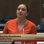 .@GabrielaEsPais destaca aprobación del #COIP que tipifica delitos que atentan contra las mujeres como el femicidio http://t.co/TPjcBwOdTr