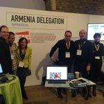 Armenian delegation at #unbounddigital http://t.co/vdu0wbT9kf