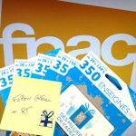 Follow @Fnac + RT et gagne une CADO carte dune valeur de 50€ !   Tirage au sort le 28/11 http://t.co/DZJhkUk5yf