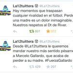 Gestos como este hacen creer que no todo está perdido en nuestro fútbol. #FuerzaMuñeco y gracias @La12tuittera http://t.co/EhVM1Sslo5