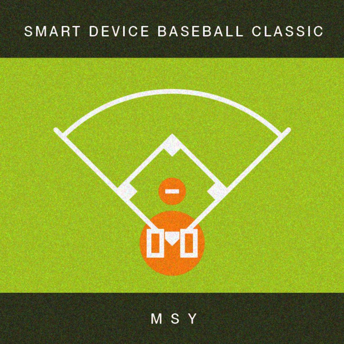 """【拡散希望】MSYニューアルバム """"Smart Device Baseball Classic"""" いよいよ、あと1時間ほどで iTunesにてリリースされます!よろしくお願いします! http://t.co/CPets5tVEH"""