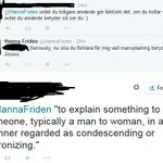 Yo, dawg! I heard you like mansplaining, so I guess thats why you decided to mansplain mansplaining... http://t.co/NmrTrGRDWV