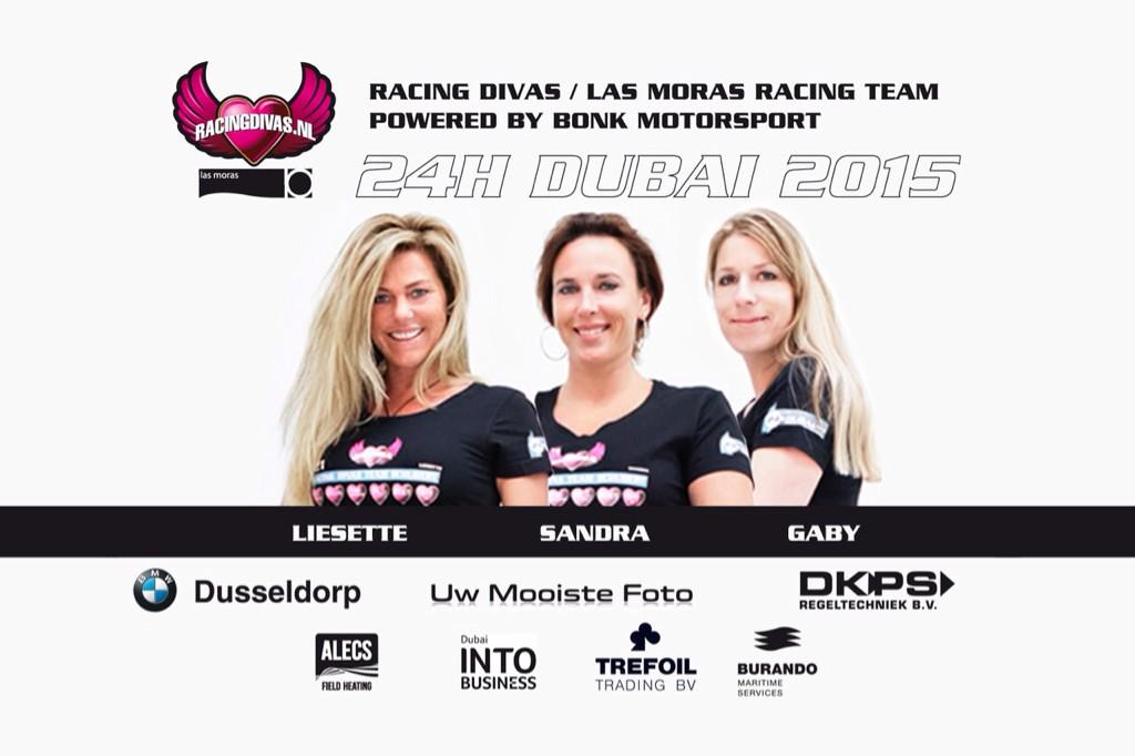 @Racingdivas & @LasMorasRT bundelen de krachten voor @24hdubai http://t.co/uzxeRKuh8B