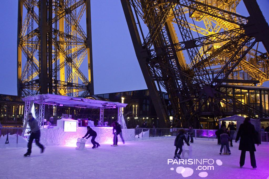 Wonderful! RT @Paris_by_Elodie: The ice rink is back on the #EiffelTower! Dec8-Feb15 on the 1st floor,skate w/a view! http://t.co/c70CV9JlVV