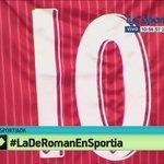 ¿Querės ganarte la 10 de Argentinos?  Seguí esta cuenta y dale RT con este hashtag.  #LaDeRomanEnSportia http://t.co/U5aCy47ctj