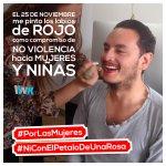 En Linktic apoyamos la campaña en contra del maltrato a la mujer #NiconelPetalodeunaRosa #PorlasMujeres @grupolinktic http://t.co/axjmpDuRJw