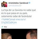 Hackean cuenta del gobernador @AristotelesSD y subieron este post http://t.co/psi3WvOxKQ