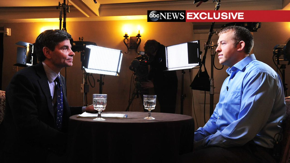 On air @ABC w/ Darren Wilson special report. Wilson tells me he feared for life. Would not do anything different. http://t.co/CrCCB2IyrR